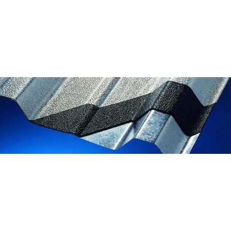 Cubierta de aluminio ondulada